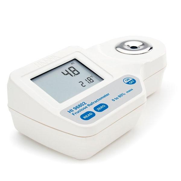 Фото 1 Цифровой рефрактометр HI 96802 для измерений весовых % фруктозы