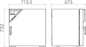 Изображение №1 - Сушильный шкаф FD 115 - Элтемикс Агро