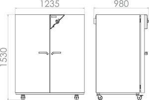 Изображение №1 - Сушильный шкаф FED 720 - Элтемикс Агро
