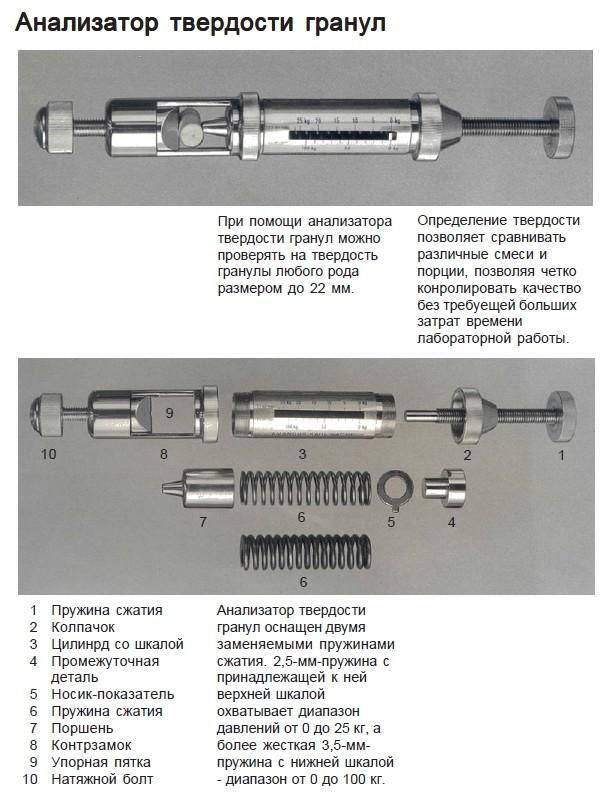 Изображение №1 - Твердомер для гранул KAHL - Элтемикс Агро