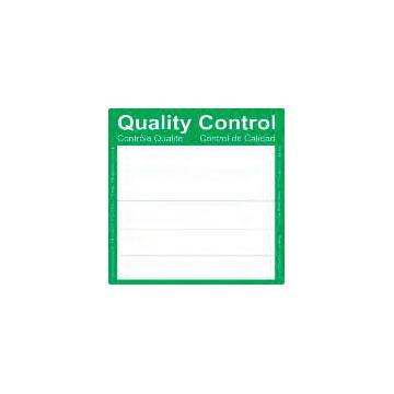 """Фото 1 Этикетки """"Контроль качества"""" Sampling Systems"""