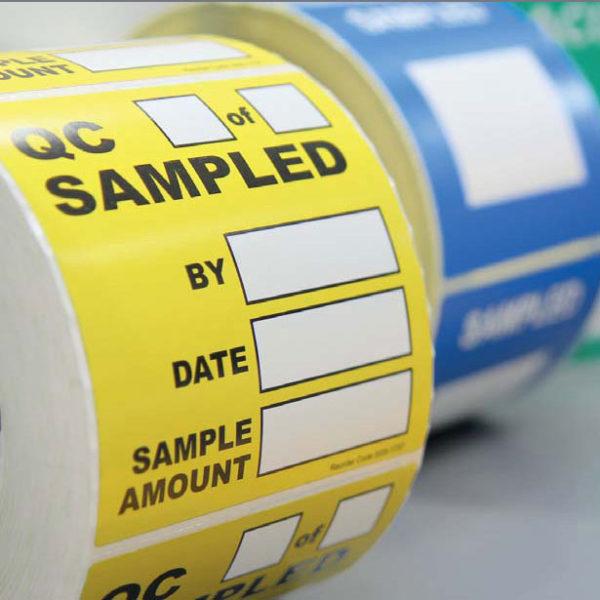Фото 1 Индивидуальные этикетки Sampling Systems
