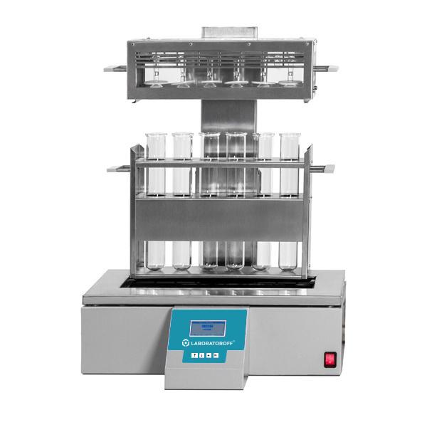 Фото 1 Автоматический инфракрасный дигестор Laboratoroff IDU 6 (метод Кьельдаля)