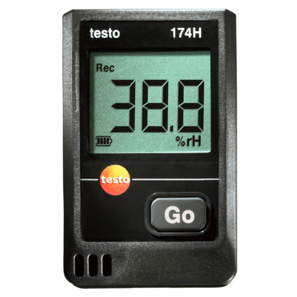 Фото 1 Мини-логгер данных температуры и влажности testo 174 H