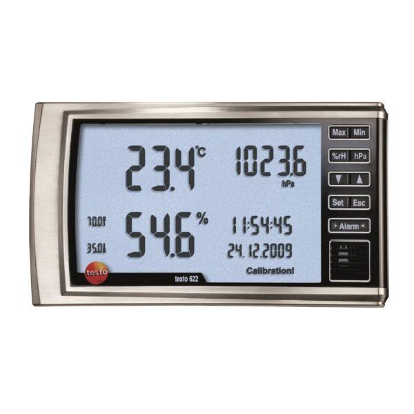 Фото 1 Термогигрометр с функцией отображения давления testo 622