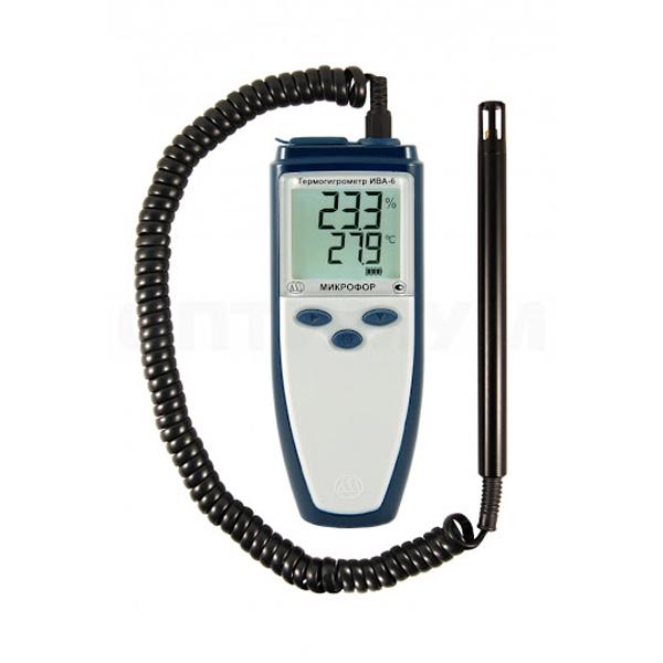 Фото 1 Термогигрометр ИВА-6Н
