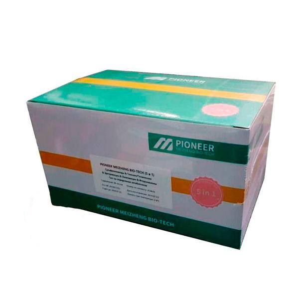 Фото 1 Экспресс тест-набор Pioneer Meizheng Bio-tech (сульфониламиды, фторхинолон, эритромицин, линкомицин, тилозин и тилмикозин)