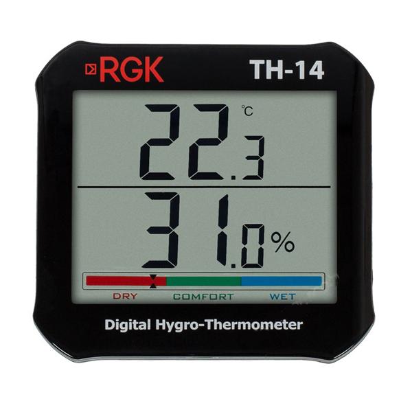 Фото 1 Цифровой термогигрометр RGK TH-14