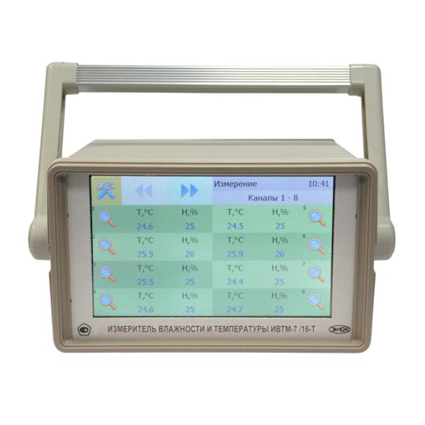 """Фото 1 Термогигрометр ИВТМ-7 /16-Т-8Р-8А (Ethernet, 7"""")"""