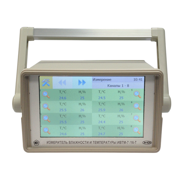 "Фото 1 Термогигрометр ИВТМ-7 /16-Т-16Р (Ethernet, 7"")"