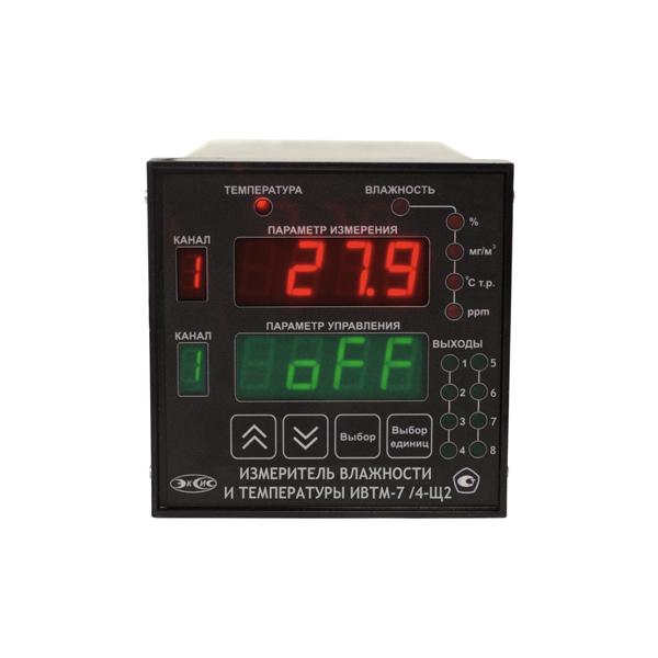 Фото 1 Термогигрометр ИВТМ-7 /4-Щ2-8А