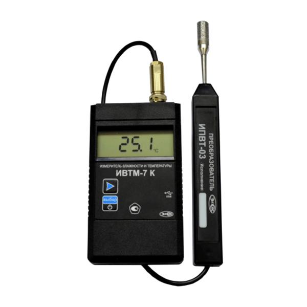 Фото 1 Термогигрометр ИВТМ-7 К с micro-USB (комплект)