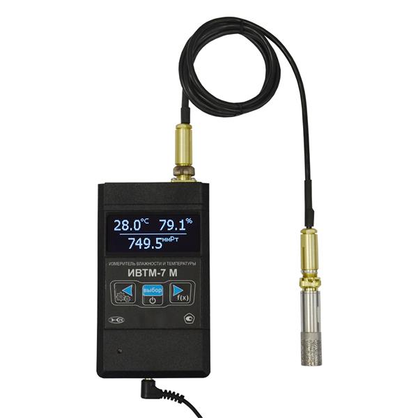 Фото 1 Термогигрометр ИВТМ-7 М 3-E с Ethernet интерфейсом