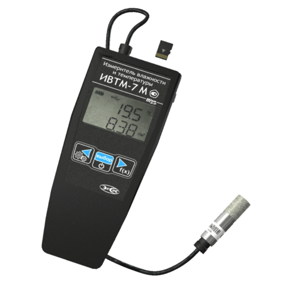 Фото 1 Термогигрометр ИВТМ-7 М 6 (в эргономичном корпусе)